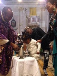 battesimo Emmanuela e Giulia
