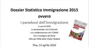 i paradossi dell'immigrazione