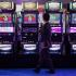 during the casino industry's G2E conference, Tuesday, Oct. 4, 2011, in Las Vegas. (AP Photo/Julie Jacobson)