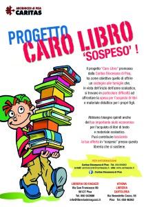 locandina CARO LIBRO SOSPESO
