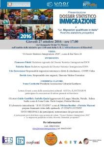 Presentazione Dossier Statistico Immigrazione a Firenze